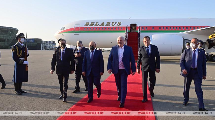 Визит Лукашенко в Азербайджан