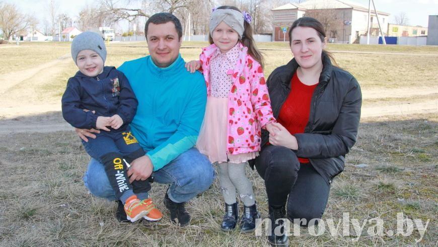 Супруги Устиновичи считают, что семья — самое ценное, что есть в мире