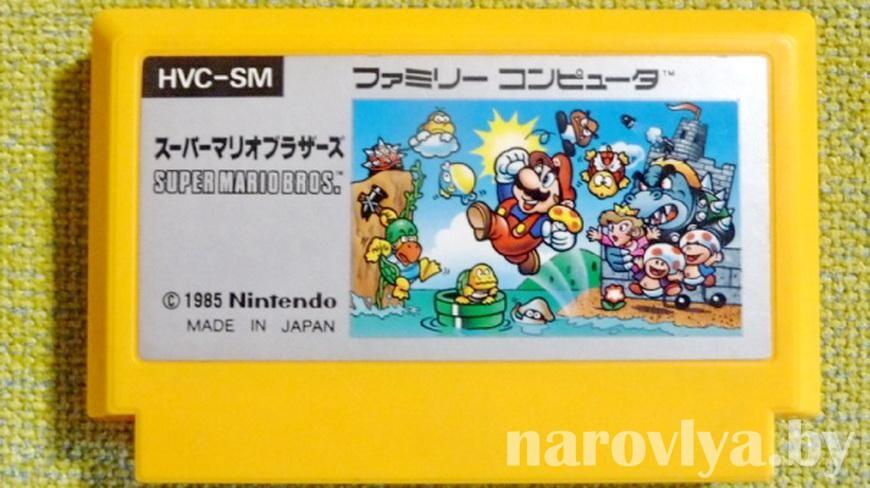 В США на аукционе продали картридж с видеоигрой Super Mario Bros