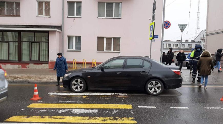 Девушка-водитель сбила в Гомеле подростка на пешеходном переходе