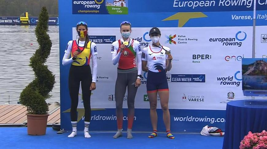 Белоруска Елена Фурман выиграла золото ЧЕ по академической гребле в Италии