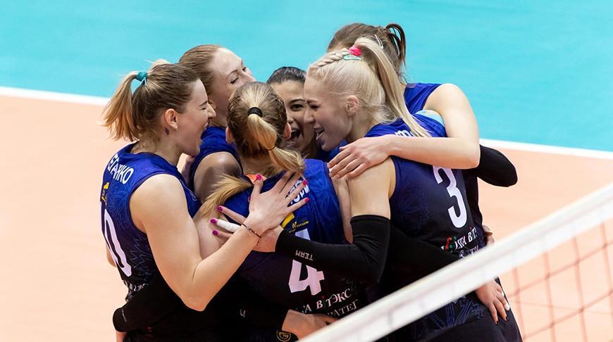 Волейболистки «Минчанки» выиграли первый матч финальной серии чемпионата Беларуси