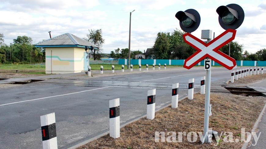 В Гомельской области проведены мероприятия по предупреждению ДТП на ж/д переездах