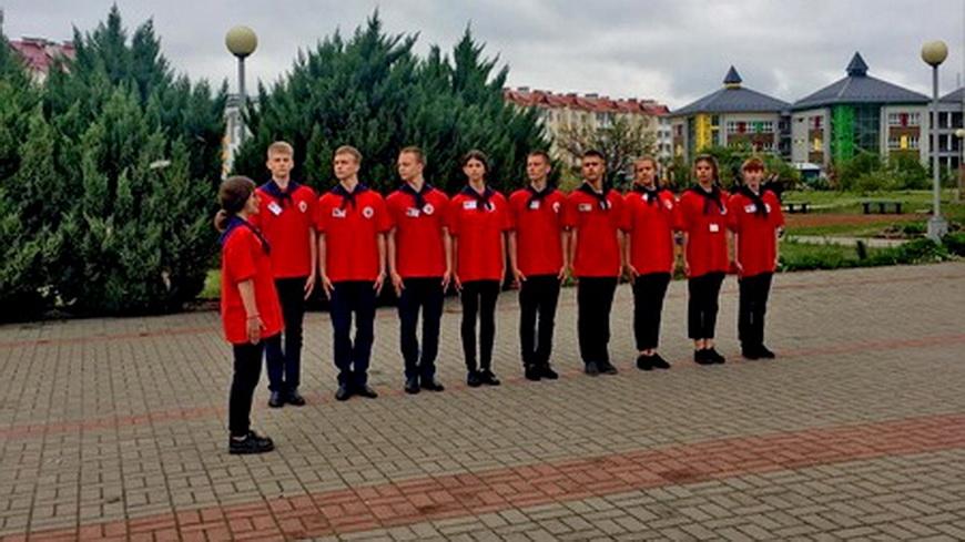 Фото. Гимназисты приняли участие в слете юных спасателей-пожарных