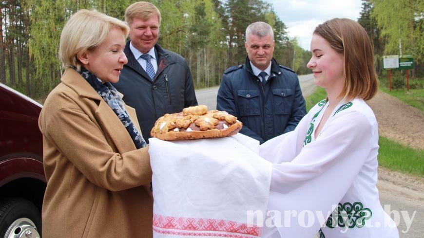 Сегодня Федерация профсоюзов Беларуси посетила Наровлянщину