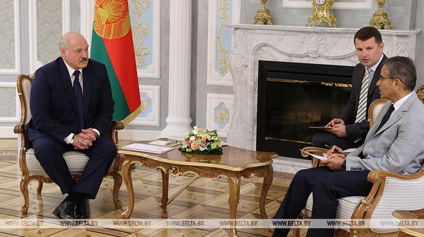 Лукашенко встретился с главой компании Emaar Properties Мухаммедом аль-Аббаром