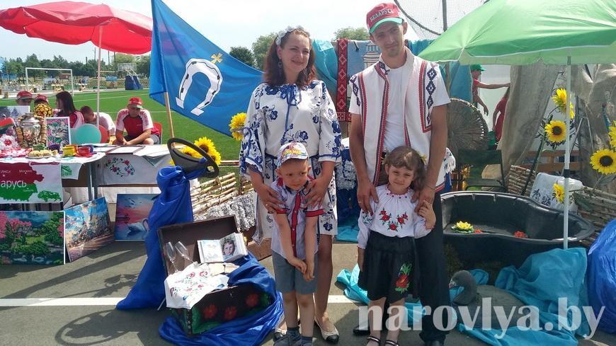 Семья Крупник представляла Наровлянщину на областном этапе конкурса «Властелин села»