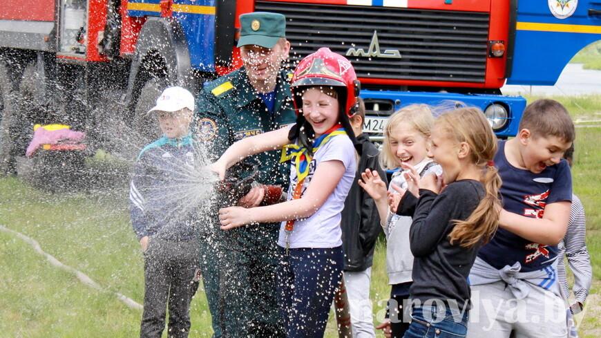 В Наровле весело отметили Международный день защиты детей