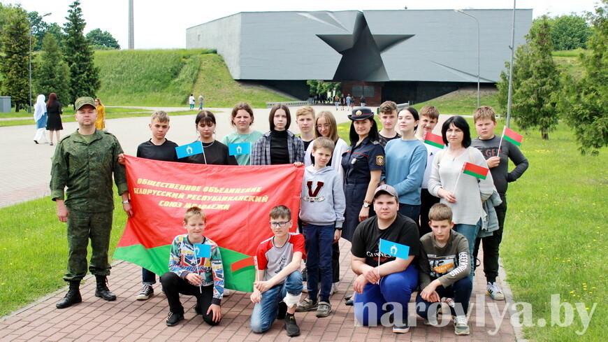 Запоминающаяся поездка наровлян в 38-ю десантно-штурмовую бригаду и Брестскую крепость