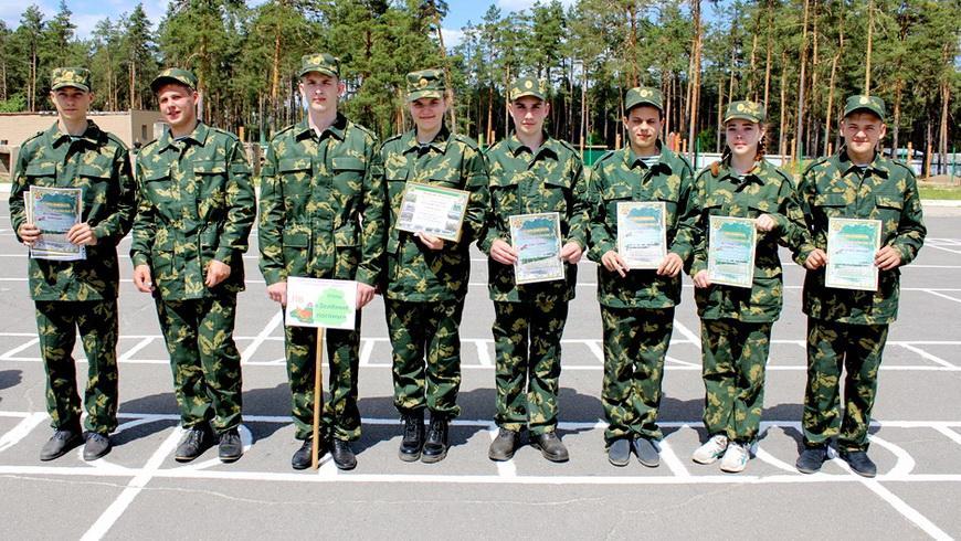 Команда СШ № 3 — лучший отряд конкурса «Юные друзья пограничников»