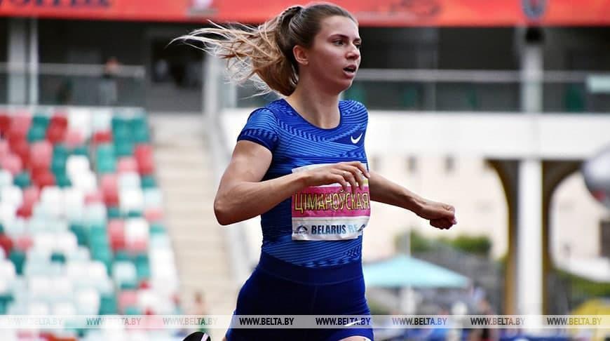 Легкоатлетка Кристина Тимановская выиграла золото на турнире в Австрии