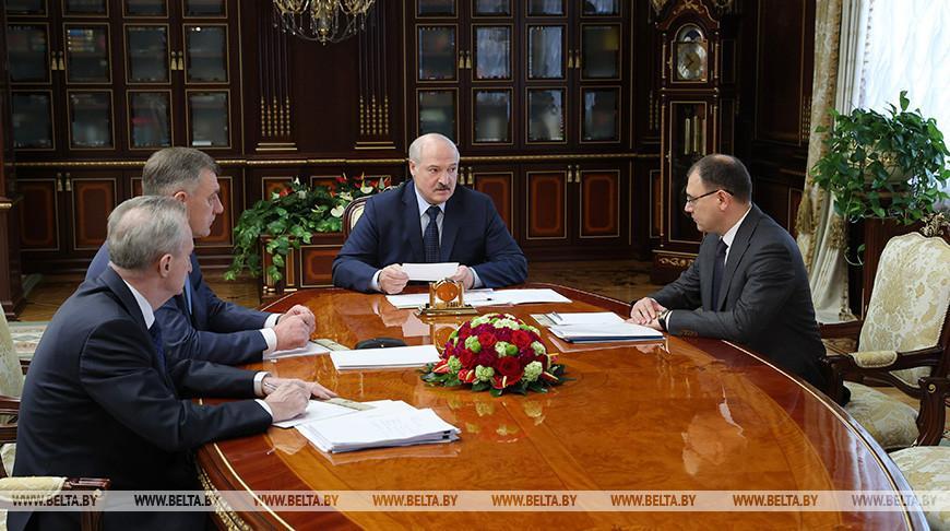 О работе БелАЭС и использовании атомной энергии — Лукашенко доложили о развитии энергокомплекса Беларуси