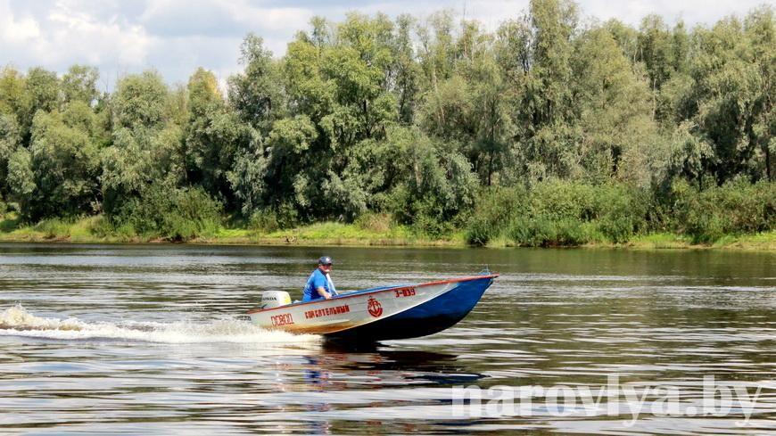 В Наровле спасли тонувшего в реке эстонца