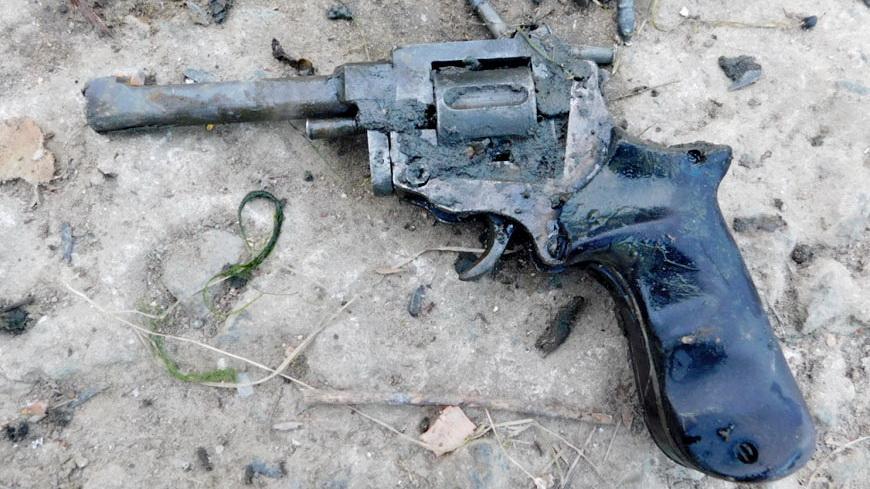 Из реки Сож рыбак вытащил револьвер с патронами