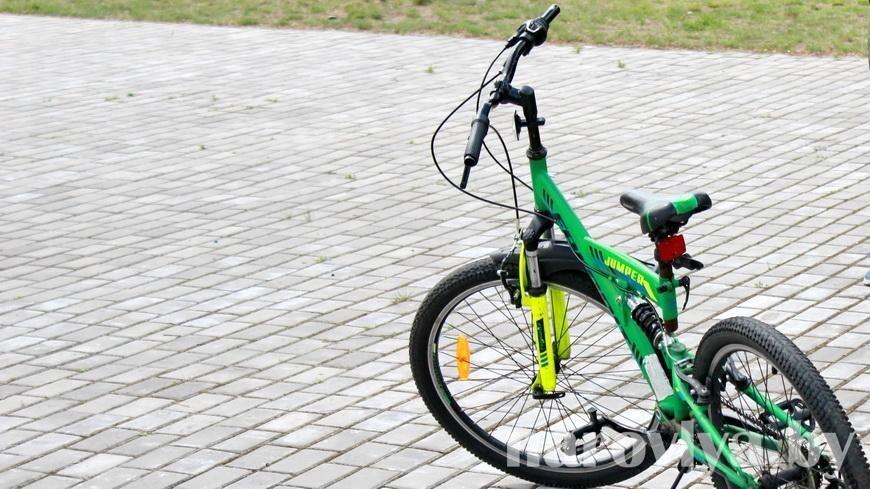 На Наровлянщине стартовала акция «Юный велосипедист»