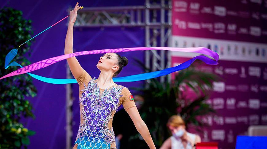 Белоруски выиграли 4 медали в финалах отдельных видов ЧЕ по художественной гимнастике в Болгарии