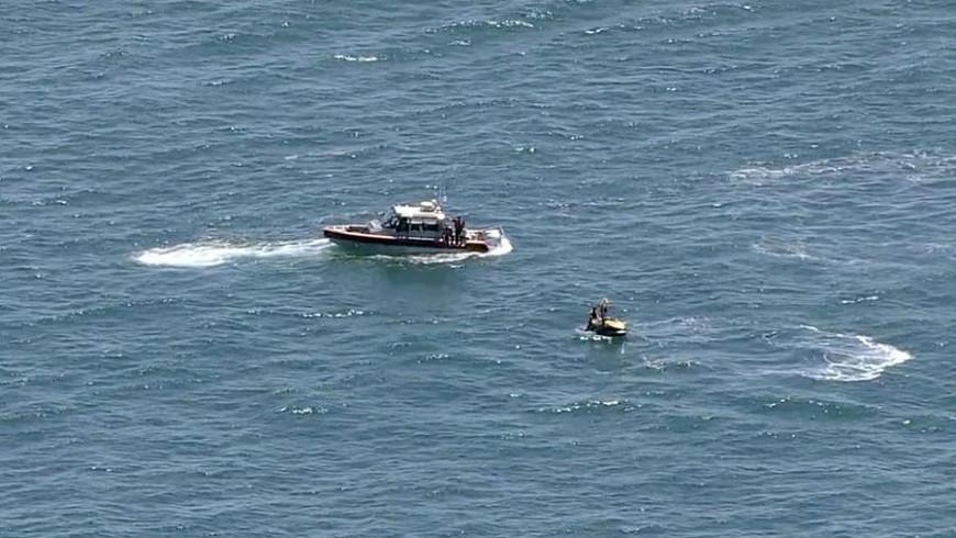 Самолет упал в океан в американском штате Нью-Джерси