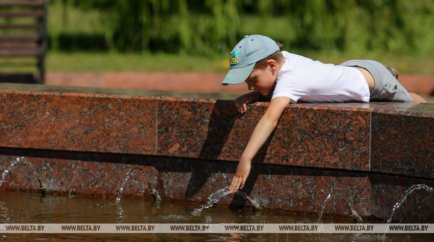 Жара до +33°С ожидается в Беларуси на этой неделе