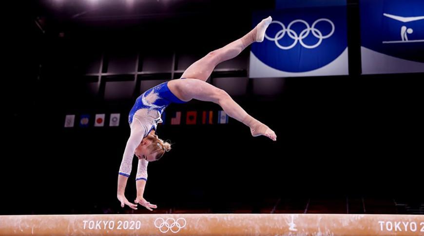 Россиянки выиграли олимпийское золото в командном турнире по спортивной гимнастике