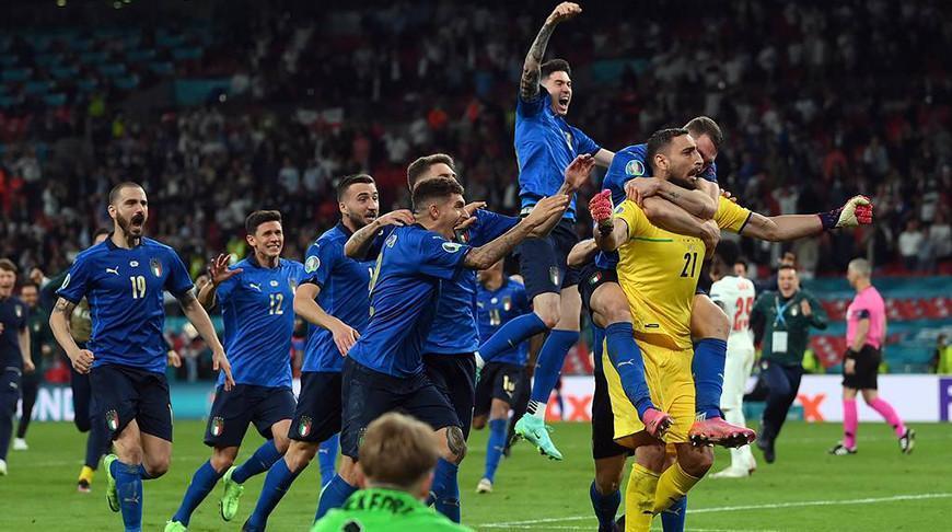 Футболисты Италии во второй раз стали чемпионами Европы