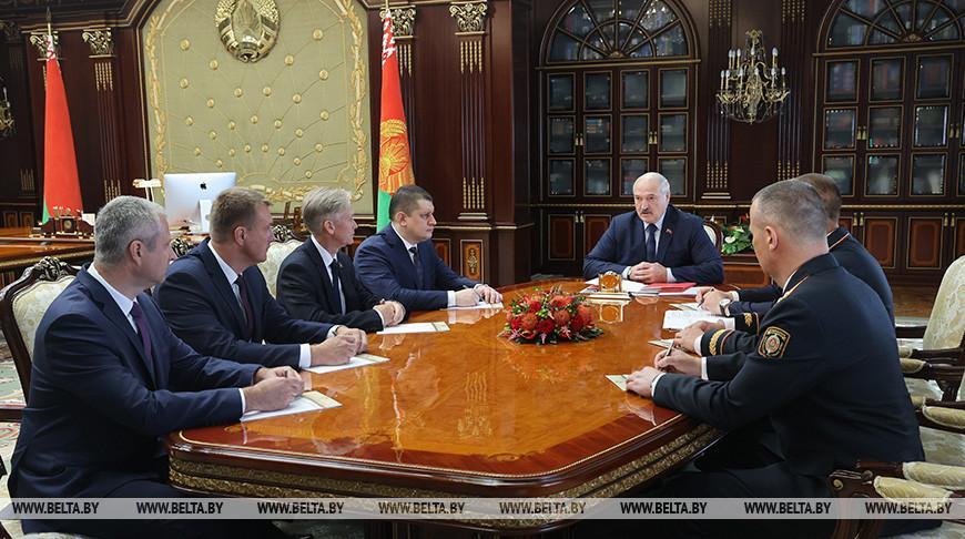 Лукашенко назначил новых начальников Академии МВД и УВД Гомельского облисполкома