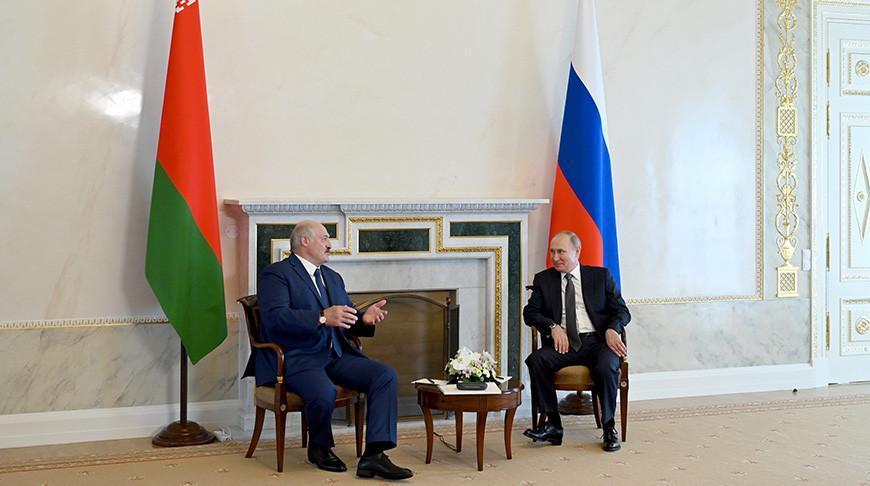 Более 5 часов длились переговоры Лукашенко и Путина в Санкт-Петербурге