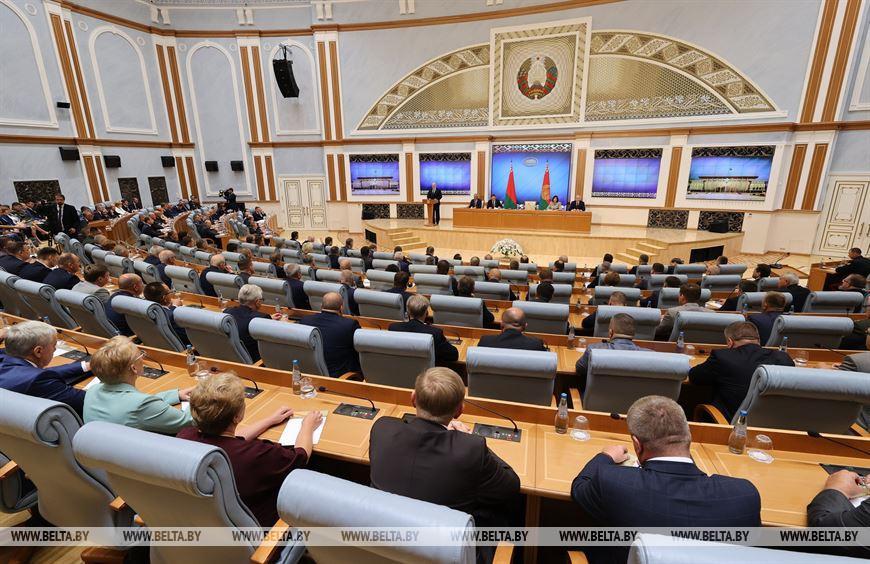 Лукашенко собрал актив местной вертикали для проведения встречи по актуальным вопросам общественно-политической обстановки