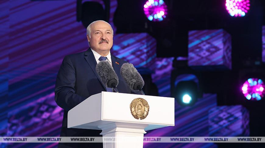Лукашенко: «Славянский базар» стал одним из символов становления независимой Беларуси