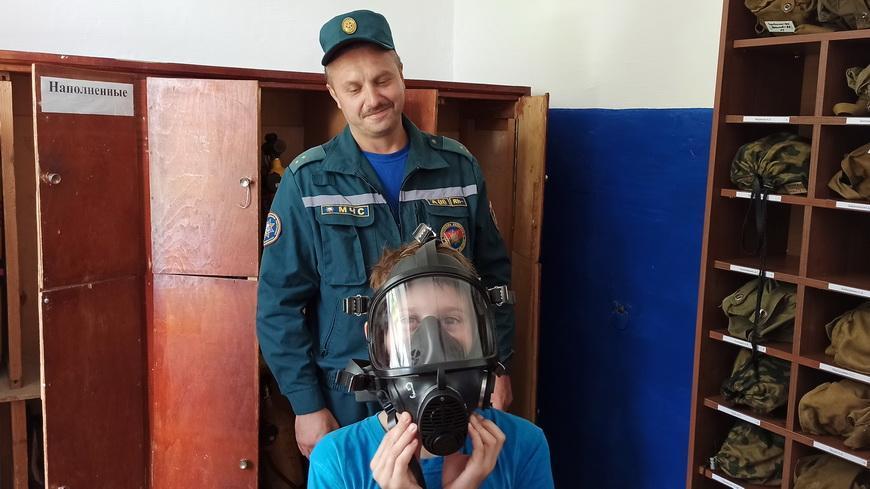 Наровлянские спасатели проводят экскурсии для школьников