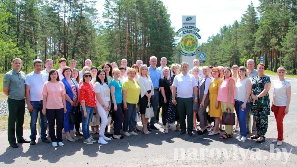В Наровлянском спецлесхозе прошел областной семинар