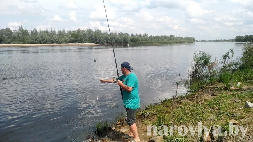 Рейд по наровлянским водоемам прошел со спасателями ОСВОД и РОЧС