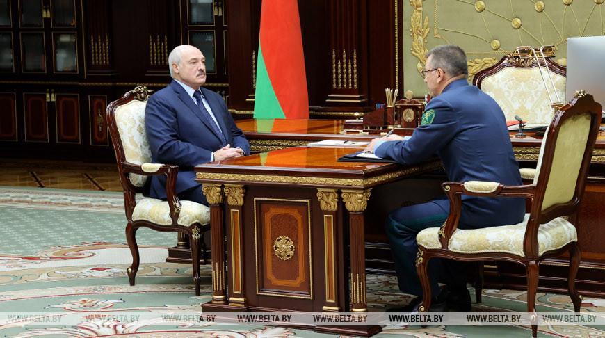 «Таможня в этом году сработала положительно» — Лукашенко принял с докладом председателя ГТК