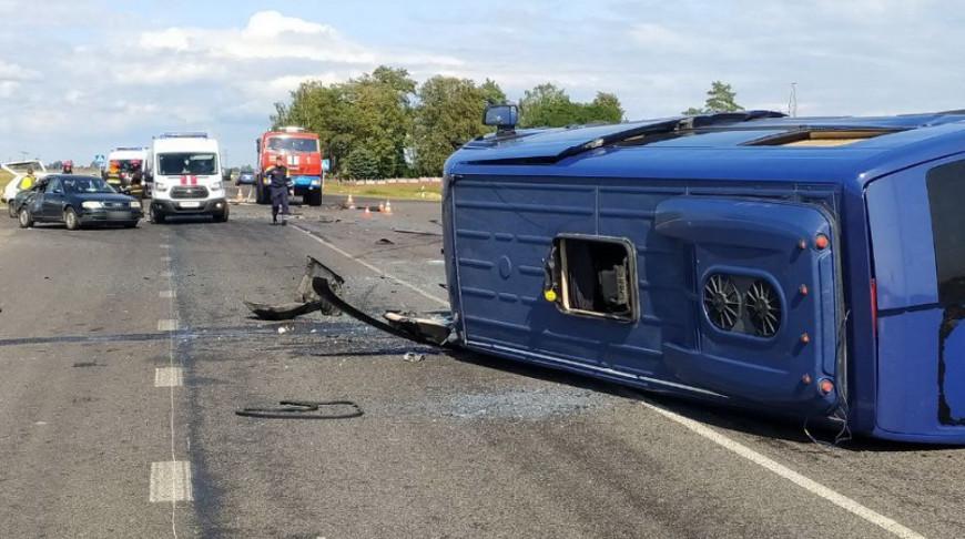 Семилетний пассажир пострадал в ДТП
