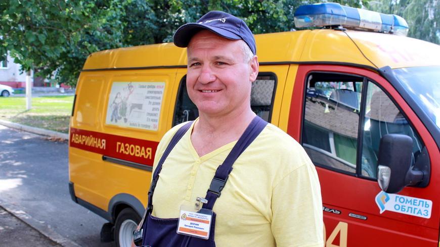 Слесарь аварийной службы района газоснабжения Аркадий Дейчик 28 лет верен выбранной профессии