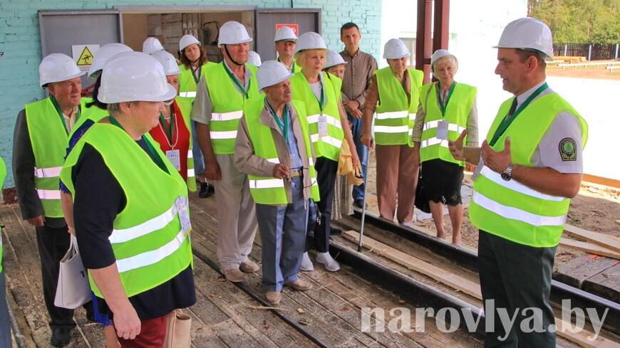 В Наровлянском спецлесхозе прошел районный семинар ветеранов труда
