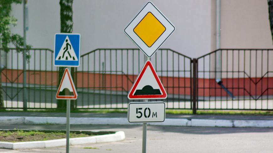 Новые антипарковочные зоны, светофоры и переходы появились вблизи школ Гомельской области