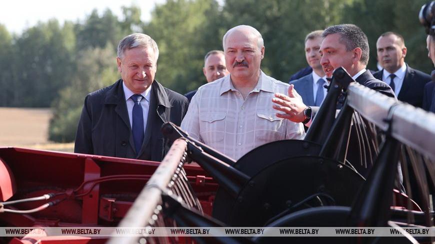 Лукашенко о ситуации в сельском хозяйстве: мы умеем делать все, но с нашей безалаберностью надо заканчивать