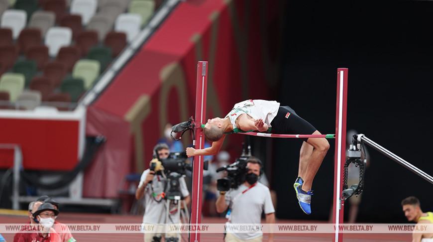 Белорус Максим Недосеков завоевал олимпийскую бронзу в прыжках в высоту