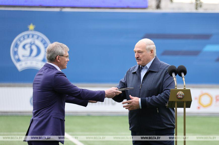 Лукашенко: «Динамо-Минск» должно встряхнуть весь белорусский футбол