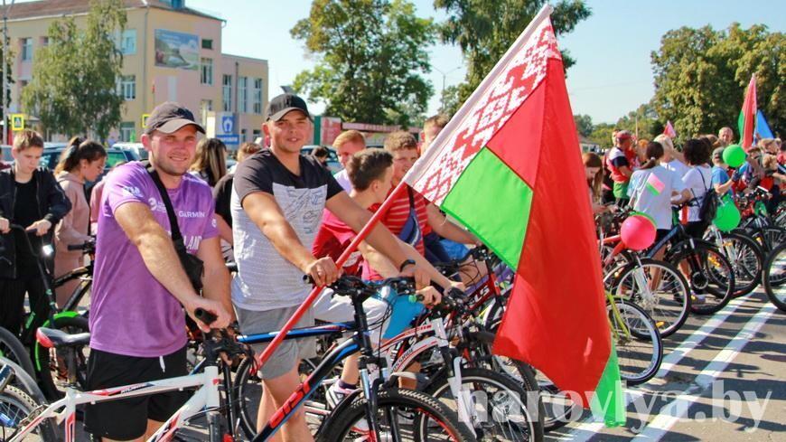Видео. Велопробег «В единстве сила» на Наровлянщине