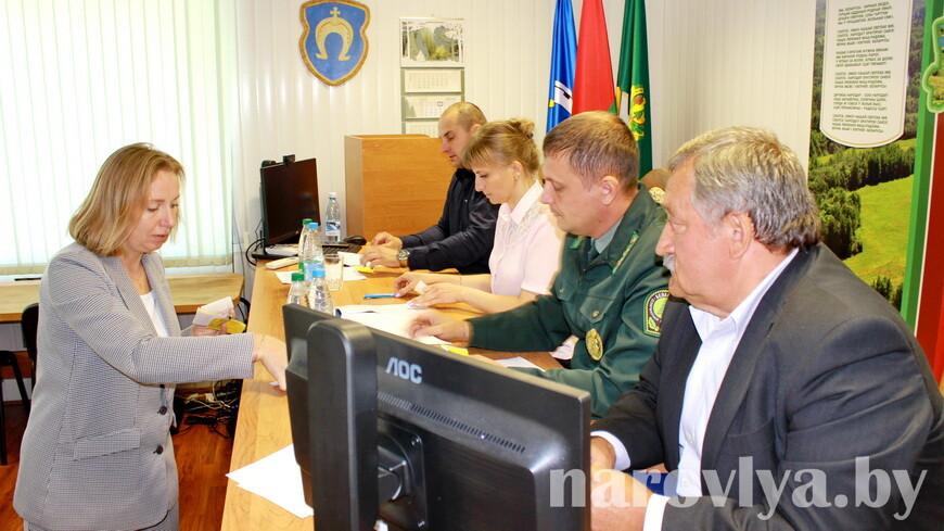 В Наровлянском спецлесхозе прошло отчетное собрание профкома