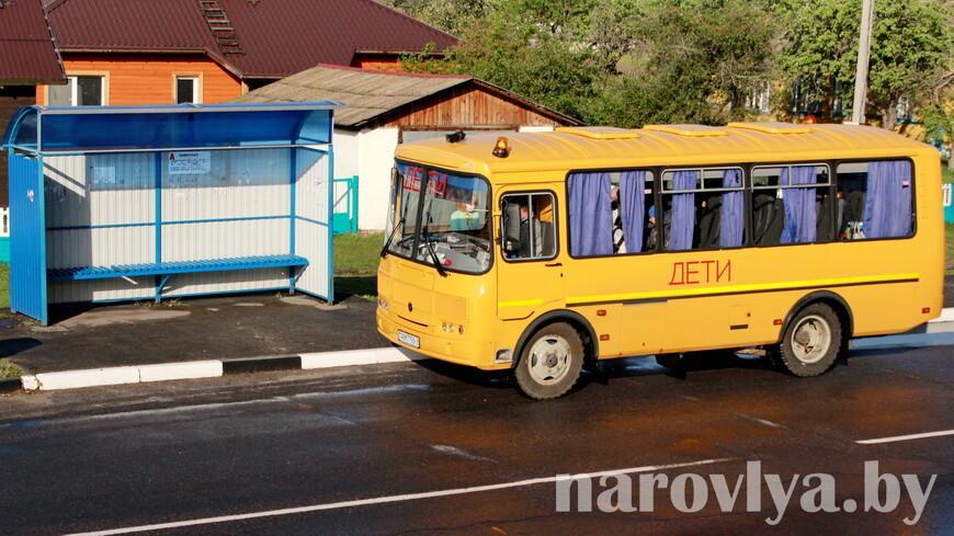 Акция «Детский автобус» стартовала в Гомельской области