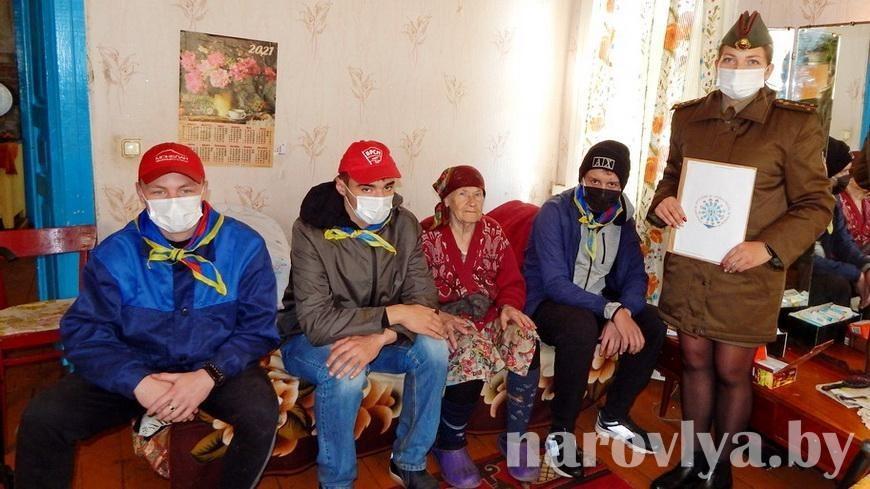 Молодежь Наровли приняла участие в республиканской акции «Молодежь за безопасность»
